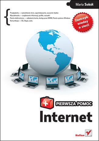 Okładka książki/ebooka Internet. Pierwsza pomoc