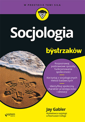 Okładka książki/ebooka Socjologia dla bystrzaków