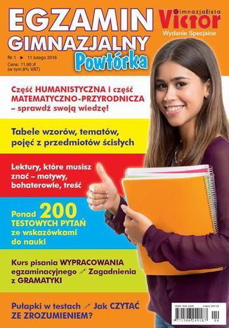 Okładka książki/ebooka Victor Gimnazjalista nr 1 (11 lutego 2016) Wydanie specjalne
