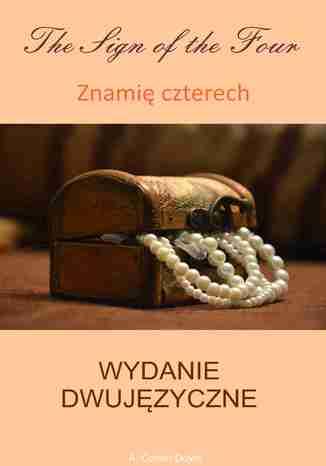 Okładka książki/ebooka Znamię czterech. Wydanie dwujęzyczne angielsko-polskie