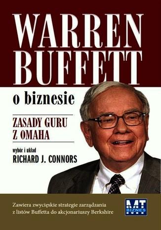 Okładka książki/ebooka Warren Buffett o biznesie