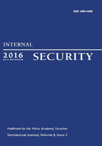 Okładka książki/ebooka Internal Security (July-December 2016) Vol. 8/2/2016