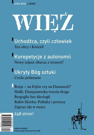 Okładka książki/ebooka Więź 4/2015