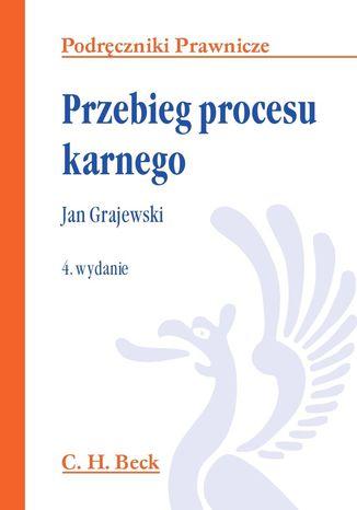 Okładka książki/ebooka Przebieg procesu karnego