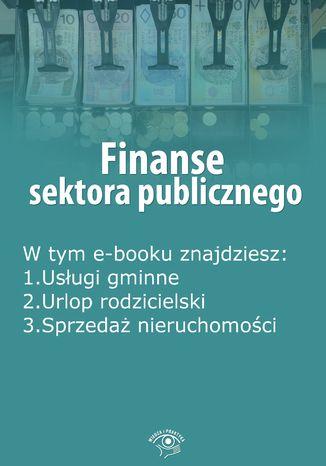 Okładka książki/ebooka Finanse sektora publicznego, wydanie czerwiec 2016 r