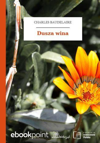 Okładka książki/ebooka Dusza wina
