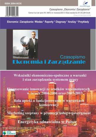 Okładka książki/ebooka Czasopismo Ekonomia i Zarządzanie nr 2 marz/2013
