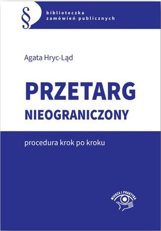 Okładka książki/ebooka Przetarg nieograniczony - krok po kroku