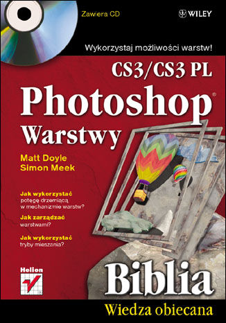 Okładka książki/ebooka Photoshop CS3/CS3 PL. Warstwy. Biblia