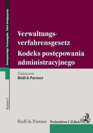 Okładka książki/ebooka Kodeks postępowania administracyjnego. Verwaltungsverfahrensgesetz. wydanie 2