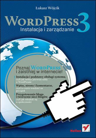 Okładka książki/ebooka WordPress 3. Instalacja i zarządzanie