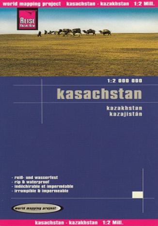 Okładka książki/ebooka Kazachstan. Mapa Reise Know-How / 1:2 000 000