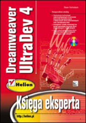 Okładka książki/ebooka Dreamweaver UltraDev 4. Księga eksperta
