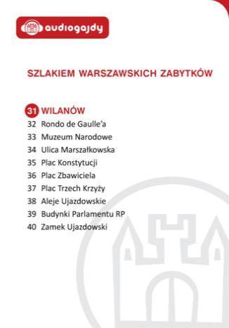 Okładka książki/ebooka Wilanów. Szlakiem warszawskich zabytków