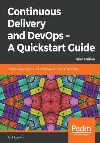 Okładka książki/ebooka Continuous Delivery and DevOps  A Quickstart Guide