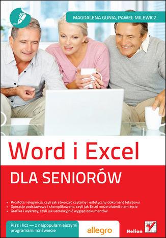 Okładka książki/ebooka Word i Excel. Dla seniorów