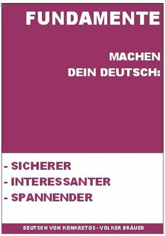 Okładka książki/ebooka Fundamente für Deutsch