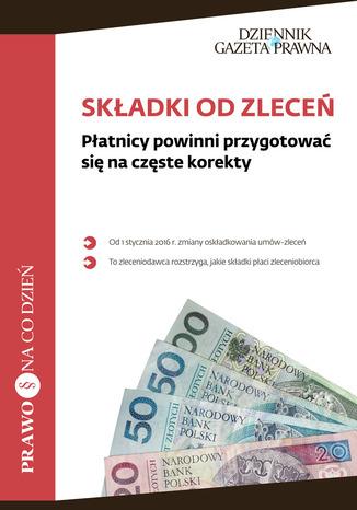 Okładka książki/ebooka Składki od zleceń