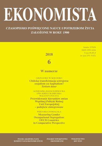 Okładka książki/ebooka Ekonomista 2018 nr 6