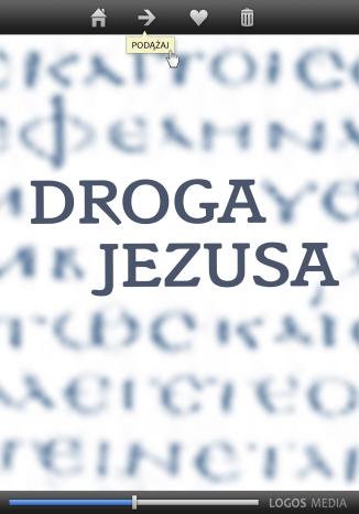 Okładka książki/ebooka DROGA JEZUSA. Ewangelia według Łukasza, przekład dynamiczny