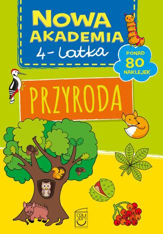 Okładka książki/ebooka Nowa akademia 4-l Przyroda