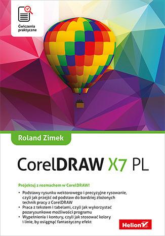 Okładka książki/ebooka CorelDRAW X7 PL. Ćwiczenia praktyczne