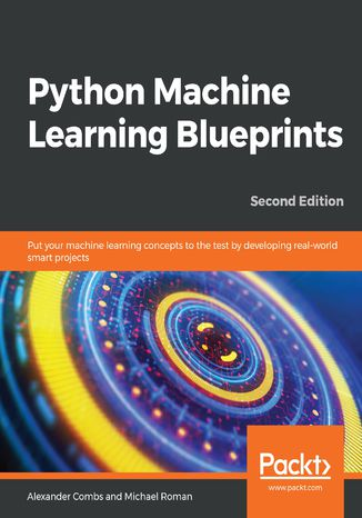 Okładka książki/ebooka Python Machine Learning Blueprints