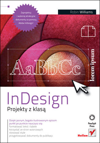 Okładka książki/ebooka InDesign. Projekty z klasą