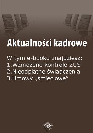 Okładka książki/ebooka Aktualności kadrowe, wydanie wrzesień 2014 r