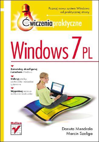 Okładka książki/ebooka Windows 7 PL. Ćwiczenia praktyczne