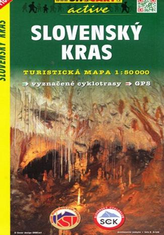 Okładka książki/ebooka  Slovenský Kras, 1:50 000