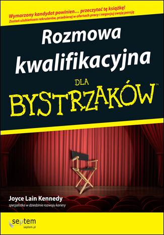 Okładka książki/ebooka Rozmowa kwalifikacyjna dla bystrzaków. Wydanie III