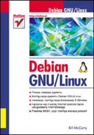 Okładka książki Debian GNU/Linux