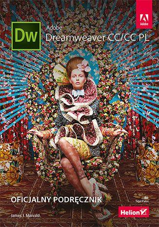 Okładka książki/ebooka Adobe Dreamweaver CC/CC PL. Oficjalny podręcznik