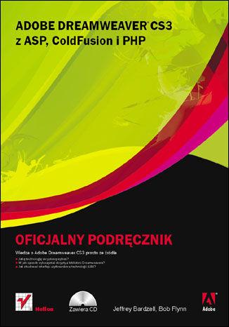 Okładka książki Adobe Dreamweaver CS3 z ASP, ColdFusion i PHP. Oficjalny podręcznik