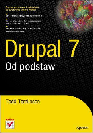 Okładka książki/ebooka Drupal 7. Od podstaw