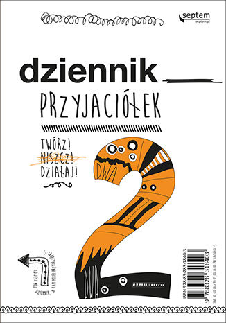 Okładka książki Dziennik przyjaciółek 2. Twórz, niszcz, działaj!