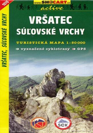 Okładka książki/ebooka Vršatec, Súlovské Vrchy, 1:50 000