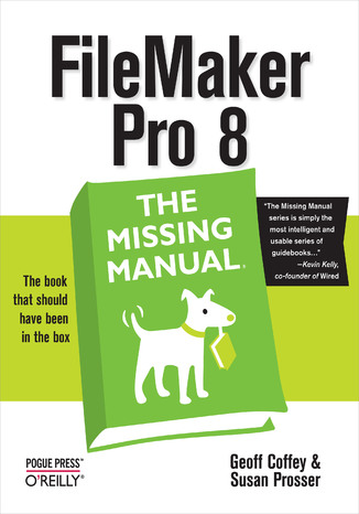 Okładka książki/ebooka FileMaker Pro 8: The Missing Manual