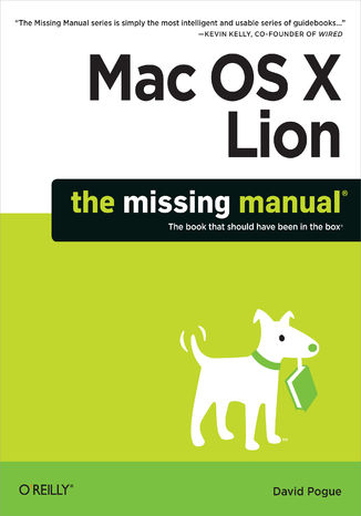Okładka książki/ebooka Mac OS X Lion: The Missing Manual