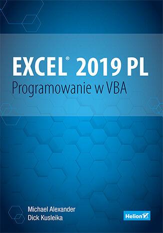 Okładka książki/ebooka Excel 2019 PL. Programowanie w VBA. Vademecum Walkenbacha
