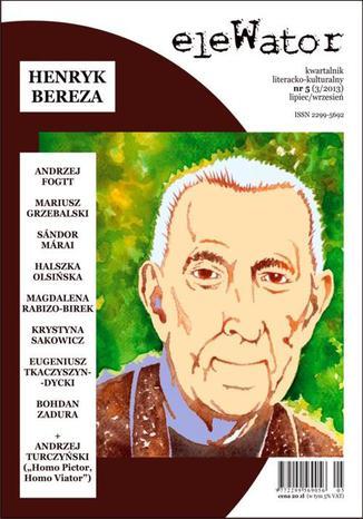 Okładka książki/ebooka eleWator 5 (3/2013) - Henryk Bereza