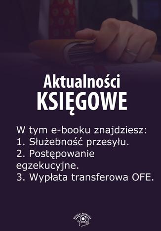 Okładka książki/ebooka Aktualności księgowe, wydanie lipiec 2014 r
