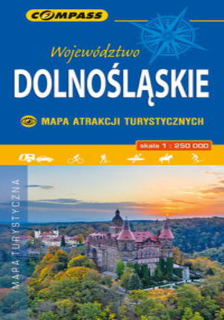 Okładka książki/ebooka Województwo Dolnośląskie - Mapa Atrakcji Turystycznych