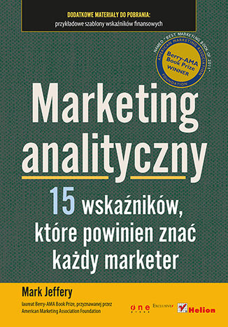 Okładka książki/ebooka Marketing analityczny. Piętnaście wskaźników, które powinien znać każdy marketer