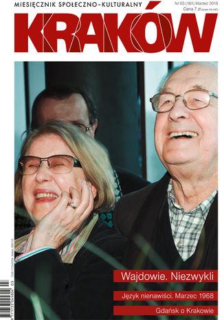 Okładka książki/ebooka Miesięcznik Kraków, marzec 2018