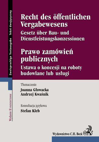 Okładka książki/ebooka Prawo zamówień publicznych. Recht des Öffentlichen Vergabewesens