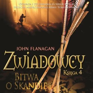 Okładka książki Zwiadowcy cz.4 Bitwa o Skandię