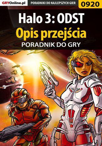 Okładka książki/ebooka Halo 3: ODST - opis przejścia - poradnik do gry