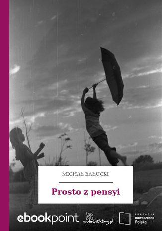 Okładka książki/ebooka Prosto z pensyi